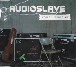 Audioslave - Doesn't Remind Me (CD, Maxi-Single, Enhanced
