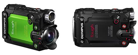 Olympus Stylus TG-Tracker action camera officially